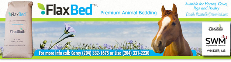 FlaxBed premium animal bedding